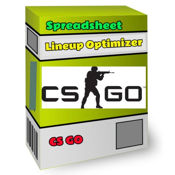 CS GO lineup optimizer spreadsheet