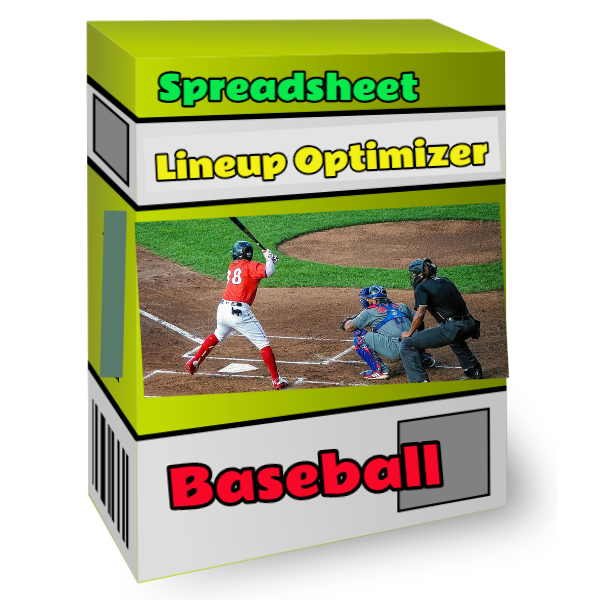 baseball spreadsheet lineup optimizer