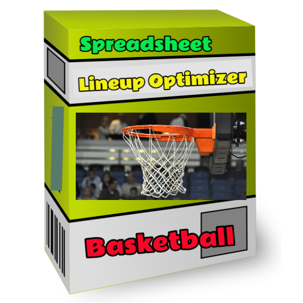 nba basketball spreadsheet lineup optimizer tool