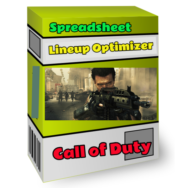 call of duty lineup optimizer