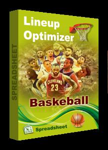 DFS basketball spreadsheet optimizer