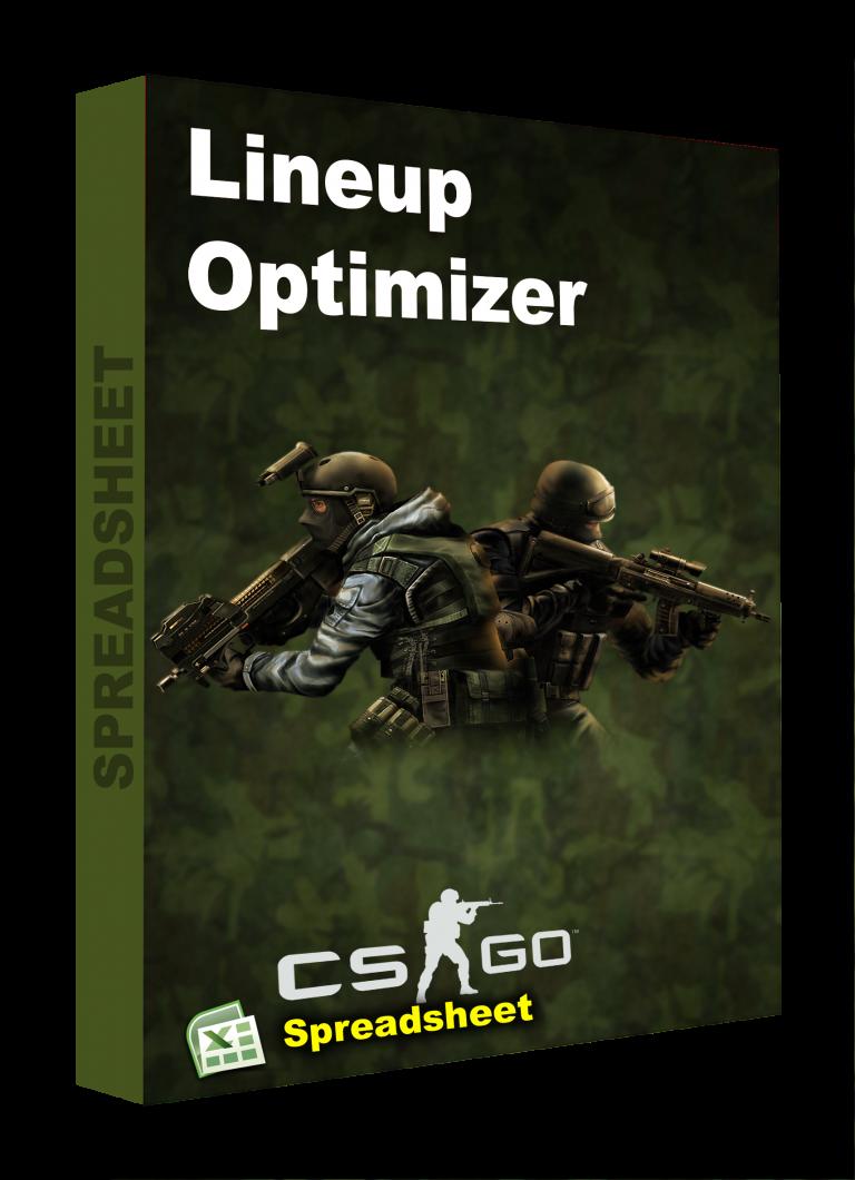 CS GO spreadsheet lineup optimizer