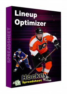 NHL Hockey spreadsheet lineup optimizer