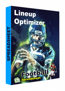NFL Football spreadsheet lineup optimizer