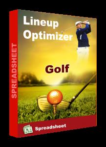 golf spreadsheet lineup optimizer